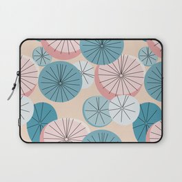 Modern Retro Pastel Pattern Laptop Sleeve