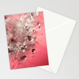New Year's Pink Champagne Stationery Cards