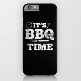 BBQ Time iPhone Case