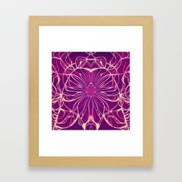 ...And I Don't Know Why She Swallowed That Fly Framed Art Print