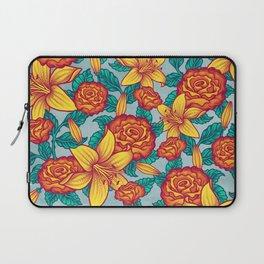 Flowers - Red Laptop Sleeve