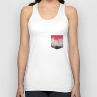 city Tank Tops featuring city by spinL
