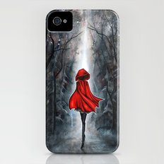 Little Red Riding Hood Slim Case iPhone (4, 4s)