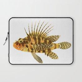 Zebra Lionfish Laptop Sleeve