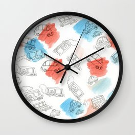 Cute Car Design Wall Clock