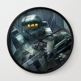 Double Master Chief   Halo Wall Clock