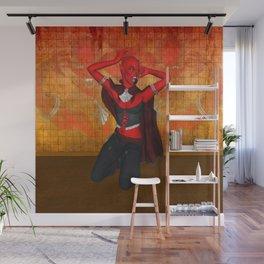 Demonic Diva Wall Mural