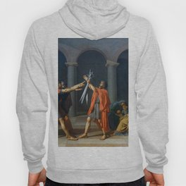 Oath of the Horatii by Jacques-Louis David Hoody