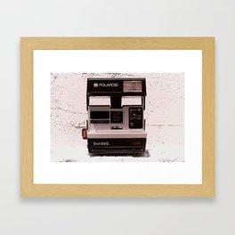 Sun 600 LMS, 1983 Framed Art Print