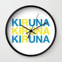 KIRUNA Wall Clock