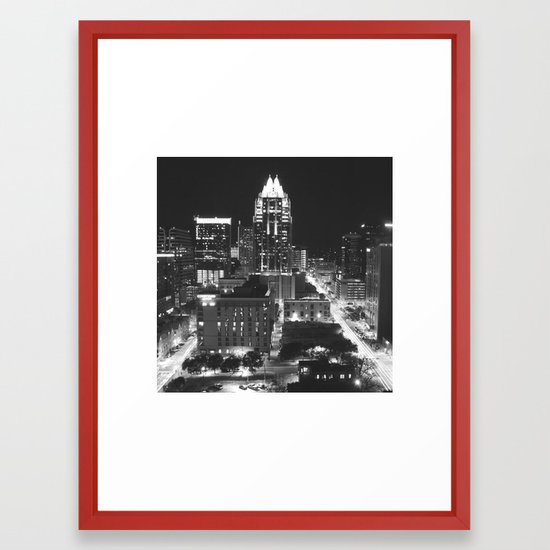 Austin Framed Art Print by aaronkinnett | Society6