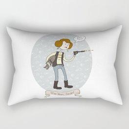 Star Wars fan-girl Rectangular Pillow