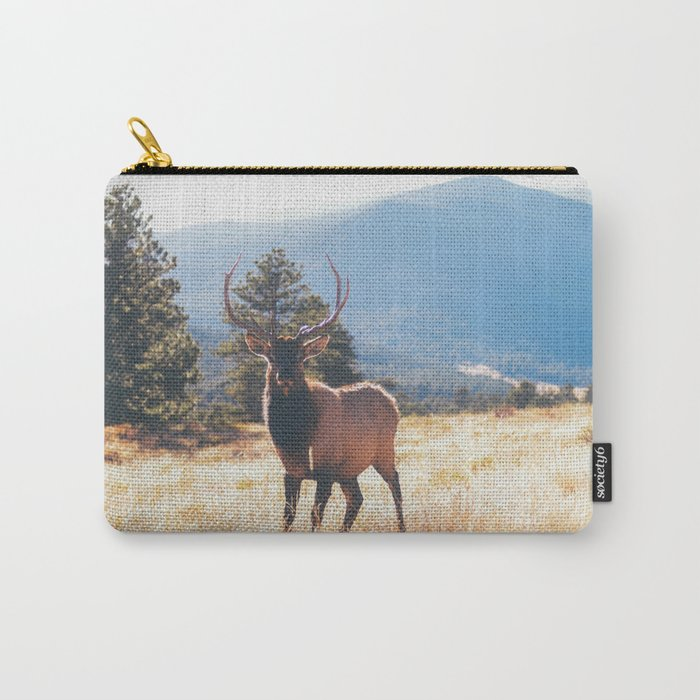 a stare down.  Carry-All Pouch