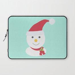 Cute happy snowman Laptop Sleeve
