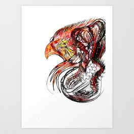 Phoenix2 Art Print