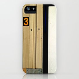 Three Comes After Two iPhone Case