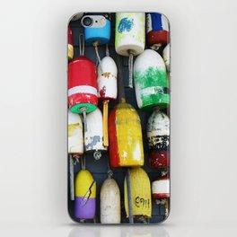 "Captured Photography Salt Series ""Buoys"" iPhone Skin"