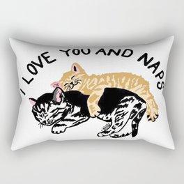 Kitten napping Rectangular Pillow