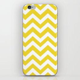 Margarine - yellow color - Zigzag Chevron Pattern iPhone Skin
