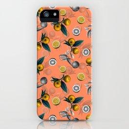 Unfinished Lemons iPhone Case
