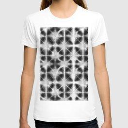 Shibori Itajime black T-shirt