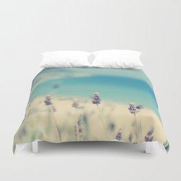 beach - lavender blues Duvet Cover