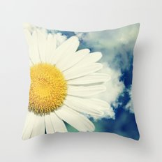 With the clouds! Throw Pillow