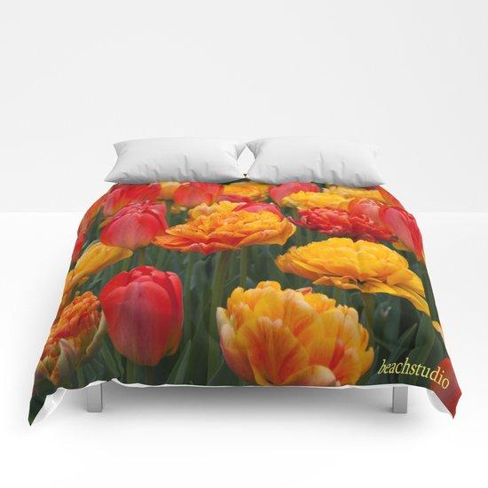 Scrumptious Tulips Comforters
