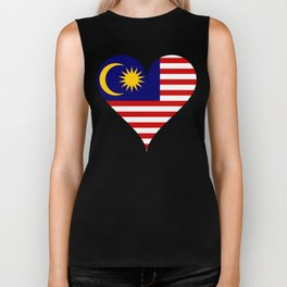South east asia flag Biker Tank