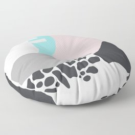 Abstract Pink Floor Pillow