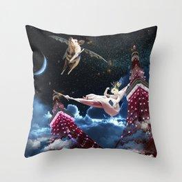tokyo dream Throw Pillow