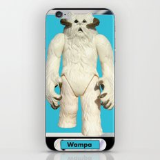 Wampa - Vintage action figure iPhone & iPod Skin