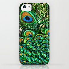Pretty Peacock iPhone 5c Slim Case