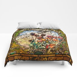 Louis Comfort Tiffany - Decorative stained glass 18. Comforters