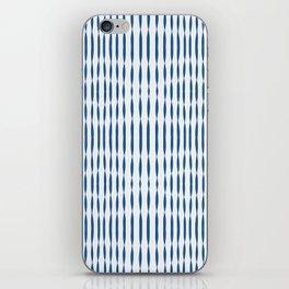 Blue Wavelengths iPhone Skin