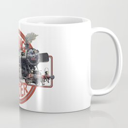 Barking Spider Rail Road Coffee Mug