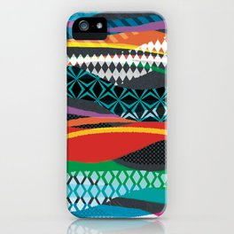 Wave Blaze iPhone Case