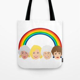 The Golden Girls LGBT Rainbow Pride Tote Bag