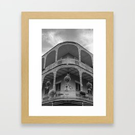 New Orleans Architecture Framed Art Print