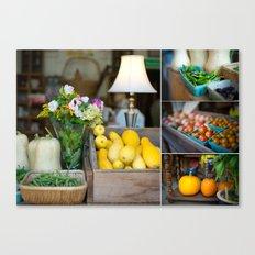 Organic produce Canvas Print