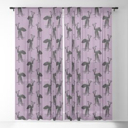 Angry Animals: Octopus Sheer Curtain