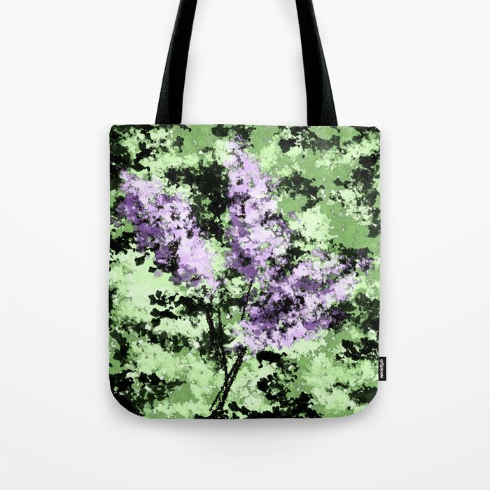 LILACS WATERCOLOR  (abstract) Tote Bag