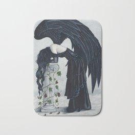 Despair Gothic Angel Bath Mat
