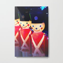Wipe That Grin Off Your Face Soldier! Metal Print
