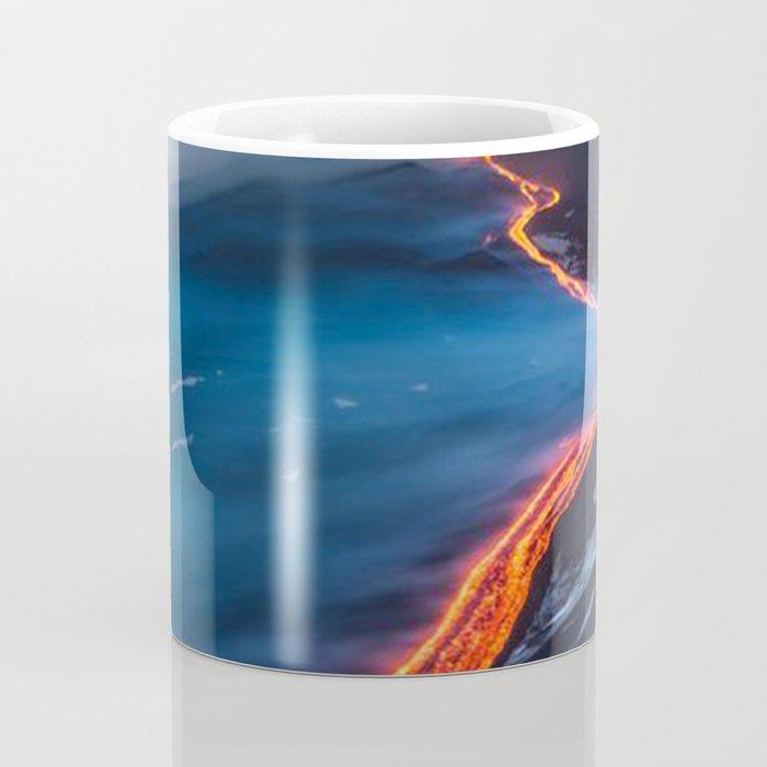 WHEN THE BEACH TURNS RED Coffee Mug