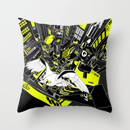 Horus Rising Throw Pillow