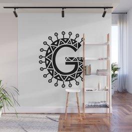 LETTER 'G' IMELA PRINT Wall Mural