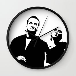 Lost In Translation - Alternative Movie Poster Wall Clock