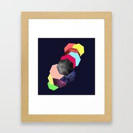 HECTAGON LIFE Framed Art Print