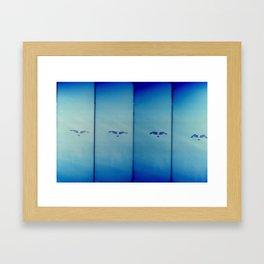 a flight Framed Art Print